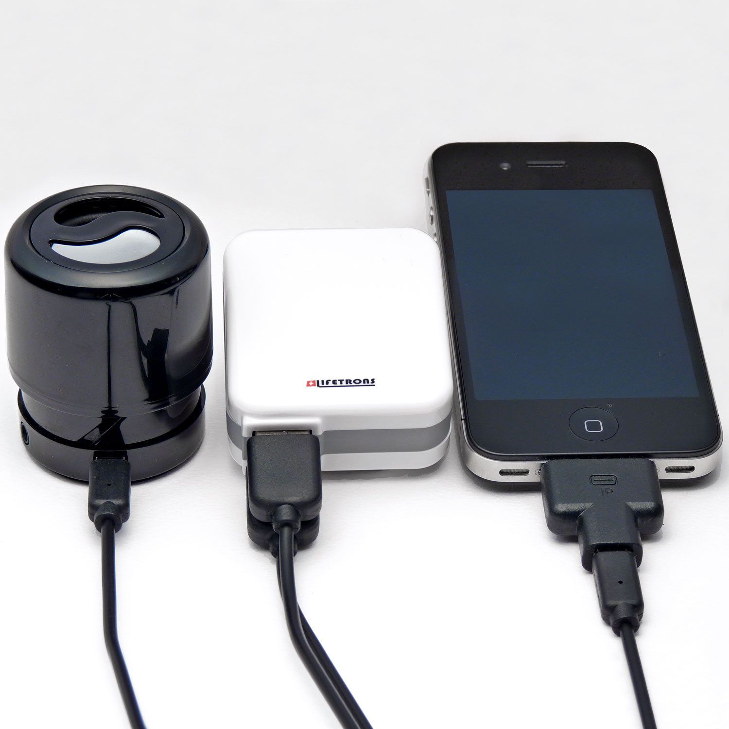 Lifetrons Worldwide Power Adapter 2 Usb Ports Fast Charge